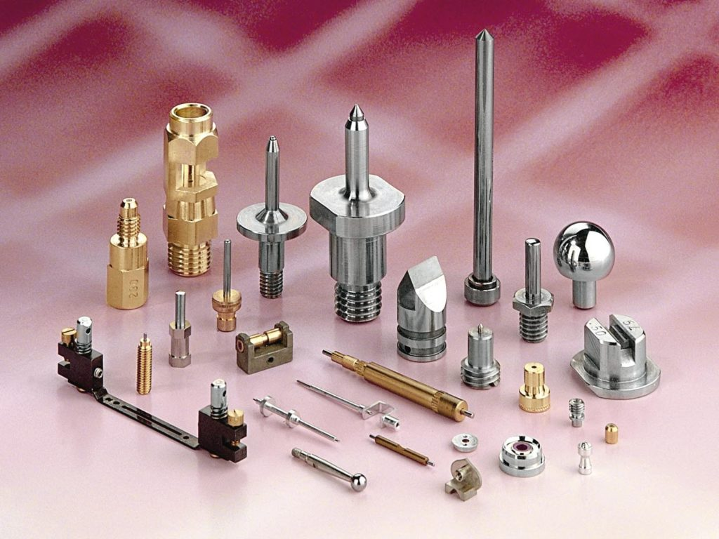 Machined Parts and Assemblies